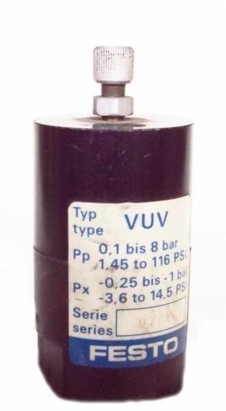 Atuador de vácuo (modelo: VUV)