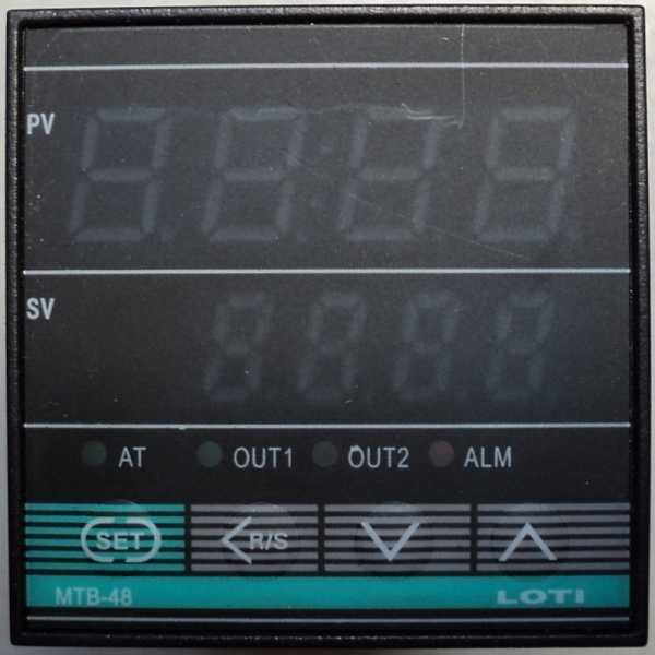 Controlador de temperatura (modelo: MTB48)
