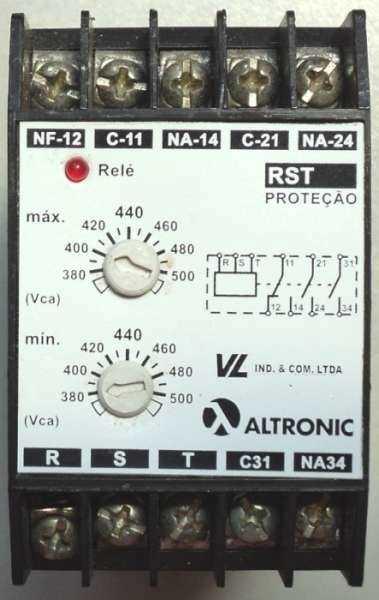 Rele de proteção (modelo: RST30TLM)