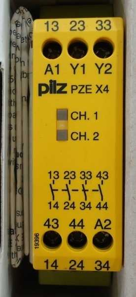 Rele de segurança (modelo: PZEX424VDC)