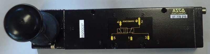 Válvula pneumática (modelo: OT772215)