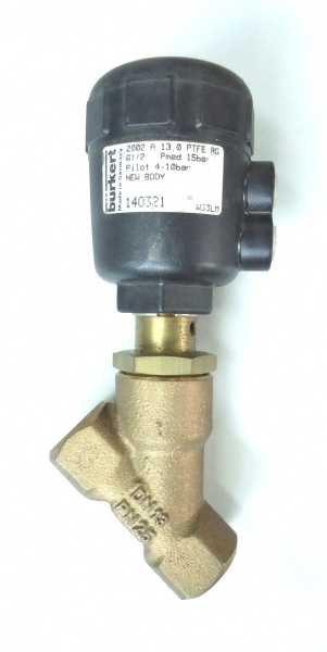 Válvula pneumática (modelo: 140321)